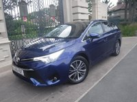 2015 TOYOTA AVENSIS 1.6 D-4D BUSINESS EDITION PLUS 5d 110 BHP £9995.00