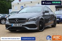 USED 2016 66 MERCEDES-BENZ CLA 2.1 CLA 220 D AMG LINE 4d AUTO 174 BHP
