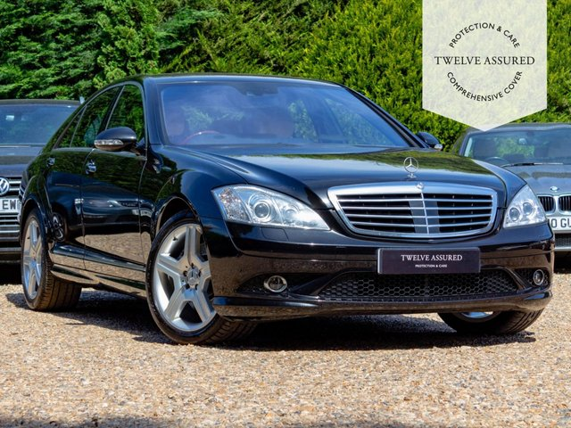 USED 2006 06 MERCEDES-BENZ S CLASS 5.5 S500 4d 383 BHP