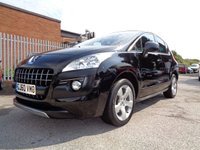 2010 PEUGEOT 3008 2.0 HDI EXCLUSIVE 5d 150 BHP £4695.00