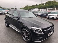 USED 2018 67 MERCEDES-BENZ GLC-CLASS 3.0 AMG GLC 43 4MATIC PREMIUM PLUS 5d 362 BHP 21 inch Alloys, Panoramic sunroof, Burmester Hi-Fi, Carbon Package, Night Package ++