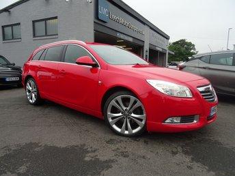 2012 VAUXHALL INSIGNIA 2.0 SRI NAV VX-LINE RED CDTI 5d 157 BHP £5995.00