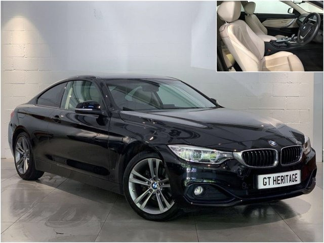 2015 64 BMW 4 SERIES 420D SPORT [NAV][PDC][CONTRAST LEATHER]