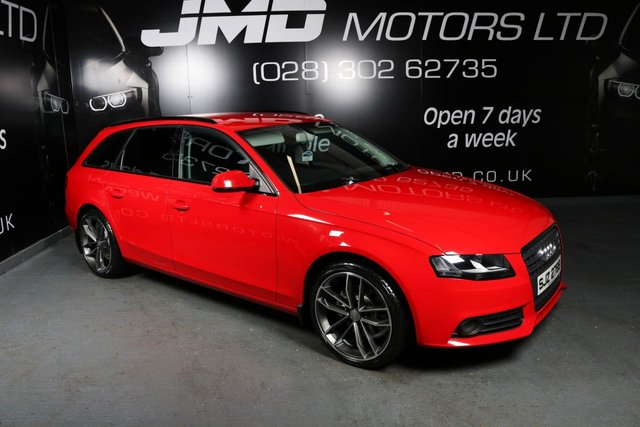 2011 AUDI A4 2.0 AVANT TDI QUATTRO BLACK EDITION STYLE 168 BHP (FINANCE AND WARRANTY)