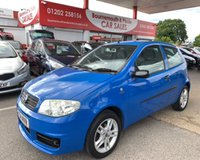 2004 FIAT PUNTO 1.2 8V ACTIVE SPORT 3d 59 BHP LOW MILES,IDEAL FIRST CAR £1295.00