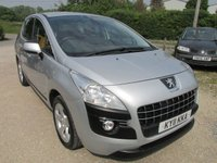 USED 2011 11 PEUGEOT 3008 1.6 SPORT HDI 5d 112 BHP SERVICE HISTORY AUTOMATIC LOW MILEAGE