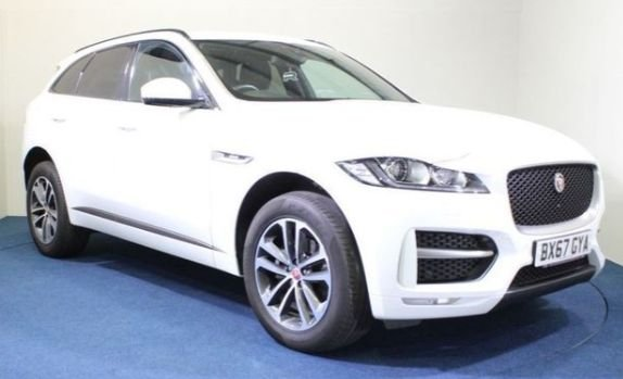 USED 2017 67 JAGUAR F-PACE 2.0 R-SPORT 5d 161 BHP Sat Nav, Front and Rear Park Assist, Heated seats, Adaptive Cruise Control, Lane Assist