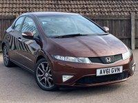 2011 HONDA CIVIC 1.8 I-VTEC SI 5d 138 BHP £4495.00