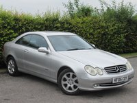 USED 2005 05 MERCEDES-BENZ CLK 3.2 CLK320 AVANTGARDE 2d AUTOMATIC * SUNROOF * AUTOMATIC * SATELLITE NAVIGATION *