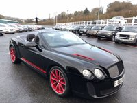 2012 BENTLEY CONTINENTAL 6.0 SUPERSPORTS ISR 2d AUTO 631 BHP £74999.00