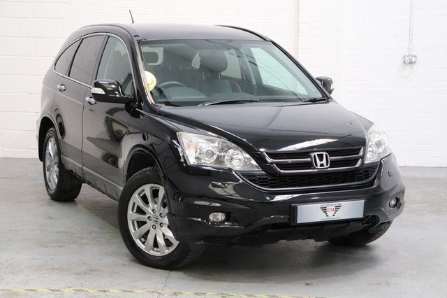 USED 2012 12 HONDA CR-V I-DTEC EX Leather Seats + Sat Nav + Panoramic Roof +Cruise
