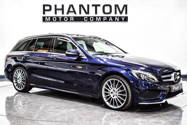 USED 2015 15 MERCEDES-BENZ C CLASS 2.1 C220 BLUETEC AMG LINE PREMIUM PLUS 5d AUTO 170 BHP