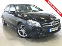 USED 2015 15 MERCEDES-BENZ A CLASS 1.5 A180 CDI BLUEEFFICIENCY SPORT 5d AUTO 109 BHP 1 OWNER   PART LEATHER  