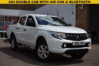 USED 2016 16 MITSUBISHI L200 2.4 DI-D 4X4 4LIFE DCB 1d 151 BHP A double cab 4x4 2016 Mitsubishi L200 4 life in white with just 30,500 miles. 1 owner with service history.
