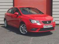 USED 2013 63 SEAT IBIZA 1.4 TOCA 3d 85 BHP HATCHBACK