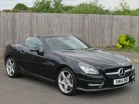 USED 2014 14 MERCEDES-BENZ SLK 3.5 SLK350 BLUEEFFICIENCY AMG SPORT 2d AUTO 306 BHP
