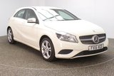 USED 2015 15 MERCEDES-BENZ A CLASS 1.5 A180 CDI SPORT EDITION 5DR AUTO 107 BHP SERVICE HISTORY + LEATHER SEATS + REVERSE CAMERA + ACTIVE PARK ASSIST + CRUISE CONTROL + BLUETOOTH + MULTI FUNCTION WHEEL + AIR CONDITIONING + ELECTRIC WINDOWS + ELECTRIC MIRRORS + 17 INCH ALLOY WHEELS