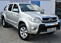 USED 2009 59 TOYOTA HI-LUX 3.0 INVINCIBLE 4X4 D-4D DCB 1d 169 BHP PREVIOUSLY LOCALLY OWNED