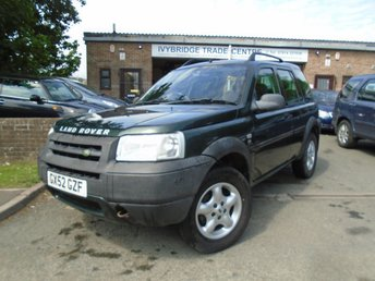 2002 LAND ROVER FREELANDER 2.0 TD4 ES STATION WAGON 5d 110 BHP £1495.00
