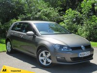 USED 2014 64 VOLKSWAGEN GOLF 1.4 MATCH TSI BLUEMOTION TECHNOLOGY 5d * 1 OWNER FROM NEW * 128 POINT AA INSPECTED * LOW MILEAGE CAR *