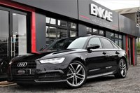 """USED 2016 16 AUDI A6 2.0 AVANT TDI ULTRA BLACK EDITION 5d 188 BHP BLACK ED*BOSE SOUND SYSTEM*1 PREVIOUS OWNER*PRIVACY GLASS*FOLDING MIRRORS*HEATED SEATS*PARKING SENSORS ALL ROUND*BEST COLOUR IN BLACK*20"""" ALLOYS*SERVICE HISTORY*"""