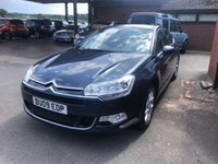 USED 2009 09 CITROEN C5 2.0 EXCLUSIVE HDI 4d 140 BHP 76K MILES, PREVIOUSLY SUPPLIED, FULL LEATHER