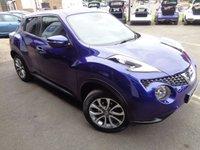2017 NISSAN JUKE 1.6 TEKNA XTRONIC 5d AUTO 117 BHP £SOLD