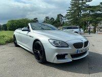 USED 2012 12 BMW 6 SERIES 3.0 640D M SPORT 2d AUTO 309 BHP SUPER SPEC LOW MILEAGE 640M SPORT CAB WITH FSH