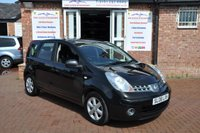 2008 NISSAN NOTE 1.4 ACENTA 5d 88 BHP £2395.00