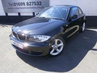 USED 2010 10 BMW 1 SERIES 2.0 118D SPORT 2dr ONLY £30 ROAD TAX