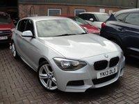 2013 BMW 1 SERIES 2.0 120D M SPORT 5d AUTO 181 BHP £8995.00