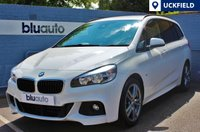 USED 2016 16 BMW 218 D 2.0 M SPORT GRAN TOURER 5d AUTO  Full BMW Servicing History; Satellite Navigation, Full Black Leather Interior with Heated Front Seats, Bluetooth Connectivity with Audio Streaming...