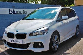 2016 BMW 218 D 2.0 M SPORT GRAN TOURER 5d AUTO  £17480.00