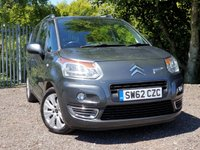 2012 CITROEN C3 PICASSO 1.6 PICASSO EXCLUSIVE HDI 5d 110 BHP