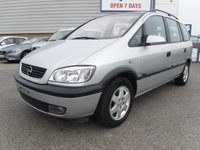 2000 OPEL ZAFIRA OPEL ZAFIRA  PETROL MANUAL  FROM GERMANY LEFT HAND DRIVE  £3995.00