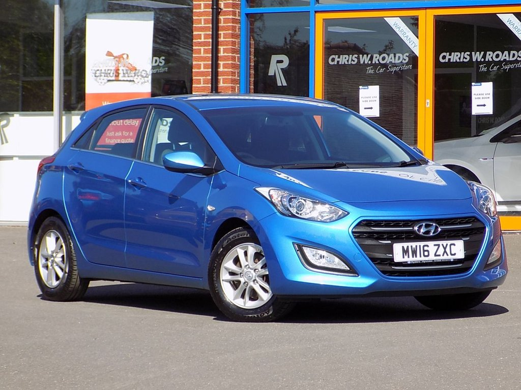 USED 2016 16 HYUNDAI I30 1.6 CRDI Blue Drive SE 5dr ** Bluetooth + Cruise + Rear PDC **
