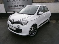 USED 2015 15 RENAULT TWINGO 1.0 DYNAMIQUE SCE S/S 5dr ZERO ROAD TAX