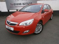 USED 2011 11 VAUXHALL ASTRA 1.6 EXCITE 5dr GREAT VALUE 5DR HATCH