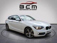 2014 BMW 1 SERIES 2.0 116D SPORT 3d 114 BHP £6485.00