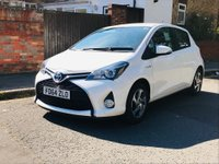 USED 2014 64 TOYOTA YARIS 1.5 Icon e-CVT 5dr MAIN DEALER HISTORY, 2 OWNERS