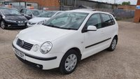 USED 2003 03 VOLKSWAGEN POLO 1.4 FSI SE Hatchback 5dr Petrol Manual (142 g/km, 85 bhp) SERVICE HISTORY +SUNROOF