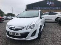 USED 2011 11 VAUXHALL CORSA 1.2 i 16v Limited Edition 3dr (a/c) Low mileage          21,074