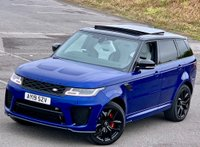 2019 LAND ROVER RANGE ROVER SPORT 5.0 V8 Supercharged SVR CommandShift 2 AWD (s/s) 5dr £104990.00