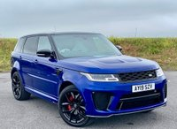 USED 2019 19 LAND ROVER RANGE ROVER SPORT 5.0 V8 Supercharged SVR CommandShift 2 AWD (s/s) 5dr PAN ROOF +PRIVACY + LANE +22'S