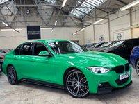 USED 2017 17 BMW 3 SERIES 3.0 335d M Sport Sport Auto xDrive (s/s) 4dr 1 OF 1 SIGNAL GREEN GEN M KIT