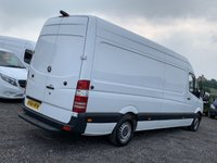 USED 2014 64 MERCEDES-BENZ SPRINTER 2.1 313 CDI LWB FACELIFT HIGH ROOF LWB, FACELIFT, ONE PREV OWNER, PLY LINED, CRUISE