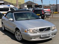 USED 2005 55 VOLVO C70 2.0 T GT 2d AUTO 163 BHP *LPG CONVERTED, HEATED FRONT SEATS, REAR PARKING SENSORS!*