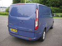 USED 2015 65 FORD TRANSIT CUSTOM 2.2 290 LIMITED 124 BHP VAN - NO VAT Air Con, Heated Seats, 35000 miles, Service History