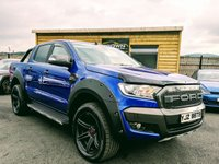 2016 FORD RANGER 3.2 LIMITED 4X4 DCB TDCI 1d AUTO 197 BHP £19995.00