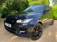 USED 2017 17 LAND ROVER RANGE ROVER SPORT 2.0 SD4 HSE 5d AUTO 238 BHP